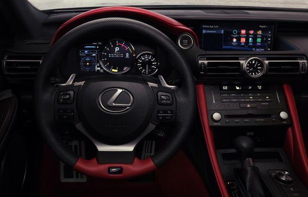 Lexus RC F facelift, imagini și detalii oficiale:rivalului lui BMW M4 va fi expus la Detroit - Poza 11