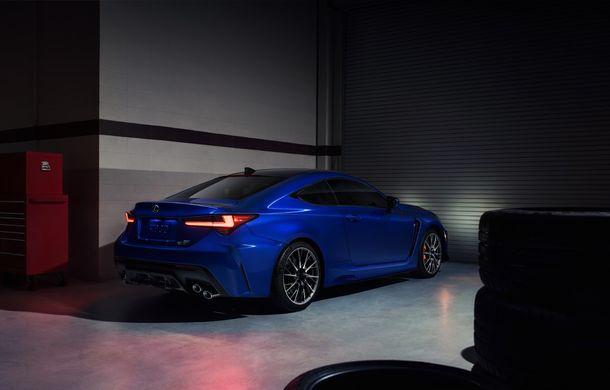 Lexus RC F facelift, imagini și detalii oficiale:rivalului lui BMW M4 va fi expus la Detroit - Poza 3
