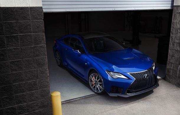 Lexus RC F facelift, imagini și detalii oficiale:rivalului lui BMW M4 va fi expus la Detroit - Poza 2