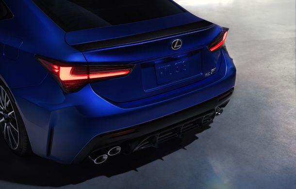 Lexus RC F facelift, imagini și detalii oficiale:rivalului lui BMW M4 va fi expus la Detroit - Poza 10