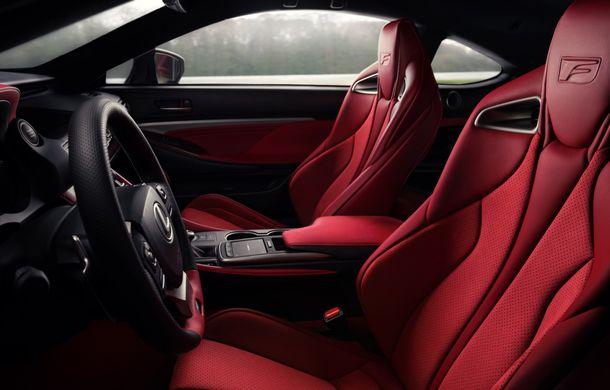 Lexus RC F facelift, imagini și detalii oficiale:rivalului lui BMW M4 va fi expus la Detroit - Poza 12