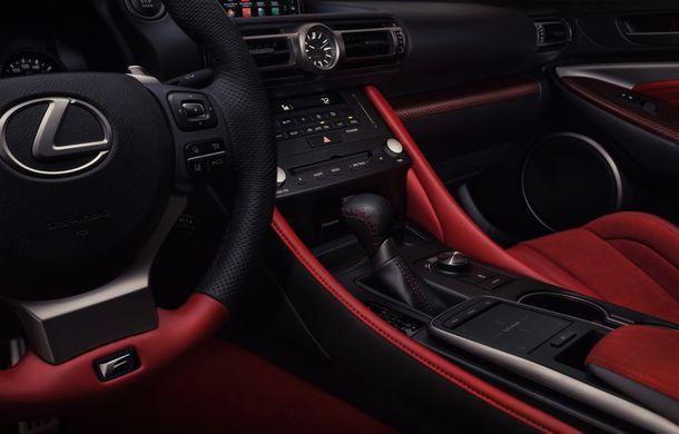 Lexus RC F facelift, imagini și detalii oficiale:rivalului lui BMW M4 va fi expus la Detroit - Poza 13