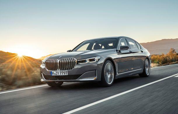 BMW Seria 7 facelift, imagini și detalii oficiale: design revizuit, asistent personal inteligent și motoare îmbunătățite - Poza 4