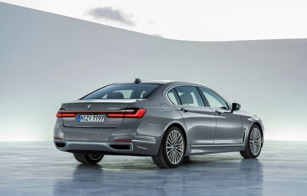 BMW Seria 7 facelift, imagini și detalii oficiale: design revizuit, asistent personal inteligent și motoare îmbunătățite - Poza 23