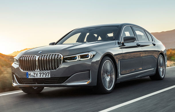 BMW Seria 7 facelift, imagini și detalii oficiale: design revizuit, asistent personal inteligent și motoare îmbunătățite - Poza 1