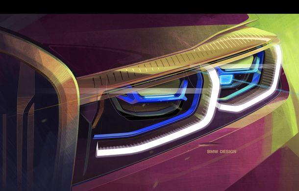 BMW Seria 7 facelift, imagini și detalii oficiale: design revizuit, asistent personal inteligent și motoare îmbunătățite - Poza 62