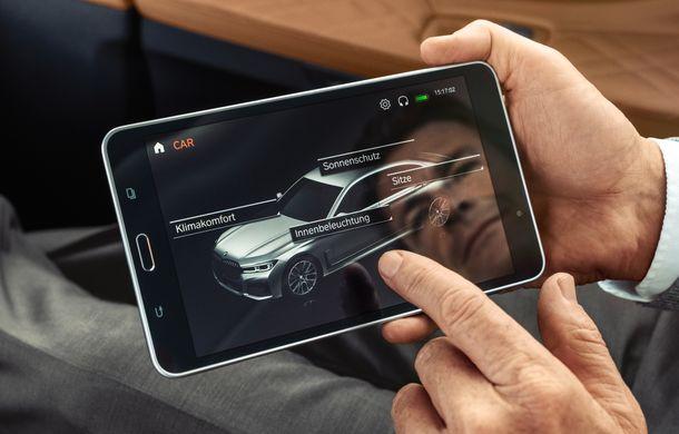 BMW Seria 7 facelift, imagini și detalii oficiale: design revizuit, asistent personal inteligent și motoare îmbunătățite - Poza 47