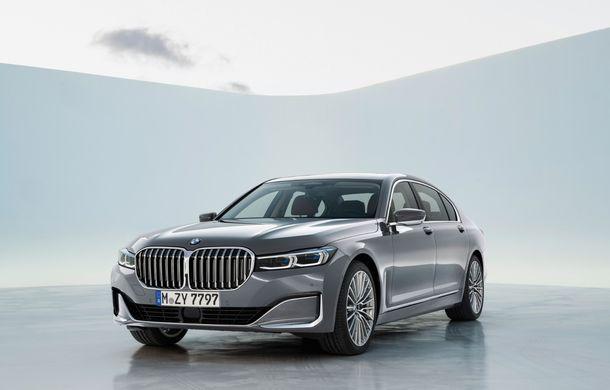 BMW Seria 7 facelift, imagini și detalii oficiale: design revizuit, asistent personal inteligent și motoare îmbunătățite - Poza 11