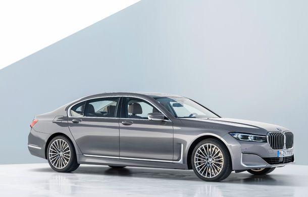BMW Seria 7 facelift, imagini și detalii oficiale: design revizuit, asistent personal inteligent și motoare îmbunătățite - Poza 17