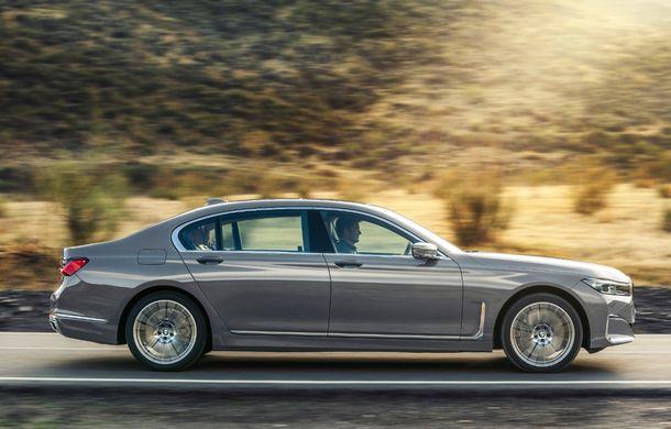 BMW Seria 7 facelift, imagini și detalii oficiale: design revizuit, asistent personal inteligent și motoare îmbunătățite - Poza 28