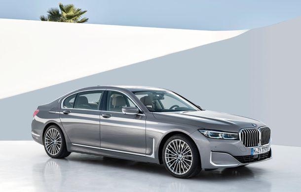 BMW Seria 7 facelift, imagini și detalii oficiale: design revizuit, asistent personal inteligent și motoare îmbunătățite - Poza 16