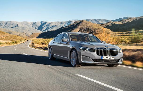 BMW Seria 7 facelift, imagini și detalii oficiale: design revizuit, asistent personal inteligent și motoare îmbunătățite - Poza 2