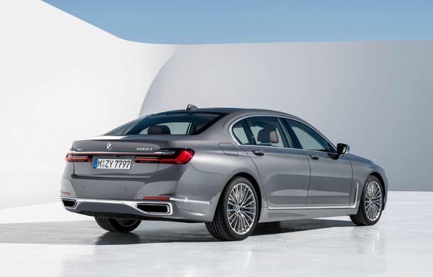 BMW Seria 7 facelift, imagini și detalii oficiale: design revizuit, asistent personal inteligent și motoare îmbunătățite - Poza 20