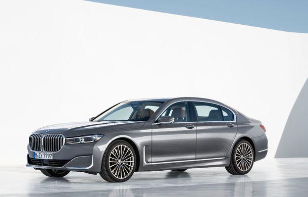 BMW Seria 7 facelift, imagini și detalii oficiale: design revizuit, asistent personal inteligent și motoare îmbunătățite - Poza 13