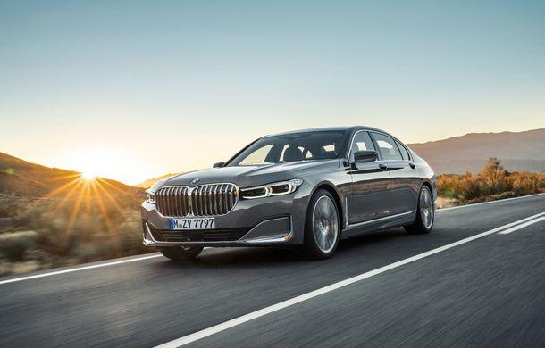 BMW Seria 7 facelift, imagini și detalii oficiale: design revizuit, asistent personal inteligent și motoare îmbunătățite - Poza 3