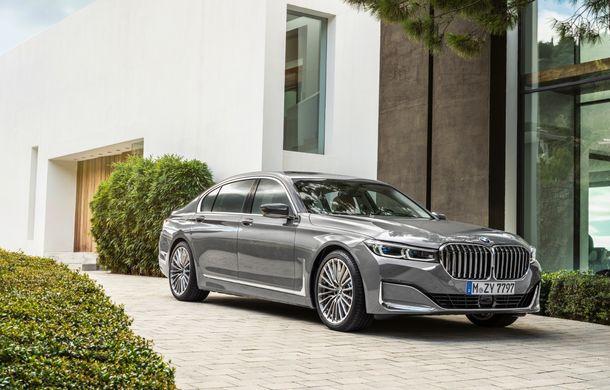 BMW Seria 7 facelift, imagini și detalii oficiale: design revizuit, asistent personal inteligent și motoare îmbunătățite - Poza 6