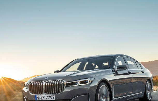 BMW Seria 7 facelift, imagini și detalii oficiale: design revizuit, asistent personal inteligent și motoare îmbunătățite - Poza 7