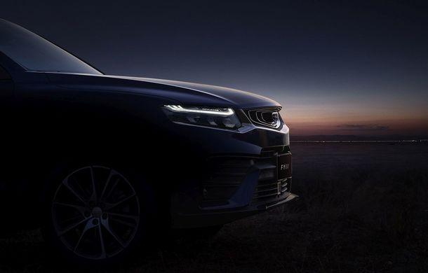 Primele imagini cu SUV-ul coupe Geely: platformă comună cu Volvo XC40 și același motor pe benzină cu 247 CP - Poza 4