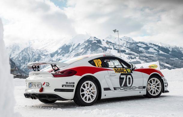 Porsche confirmă un viitor model dedicat raliurilor: sportivul nemților va fi gata până în 2020 și va avea la bază noul 718 Cayman GT4 Clubsport - Poza 3