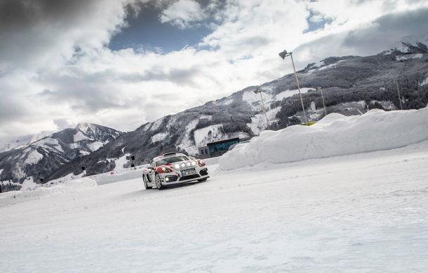 Porsche confirmă un viitor model dedicat raliurilor: sportivul nemților va fi gata până în 2020 și va avea la bază noul 718 Cayman GT4 Clubsport - Poza 2