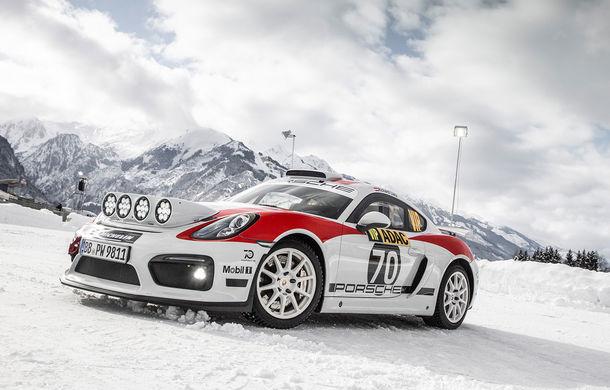 Porsche confirmă un viitor model dedicat raliurilor: sportivul nemților va fi gata până în 2020 și va avea la bază noul 718 Cayman GT4 Clubsport - Poza 1