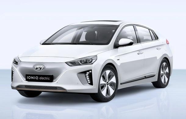 Hyundai pregătește un update pentru Ioniq Electric: baterie mai mare și un nou sistem de infotainment - Poza 1