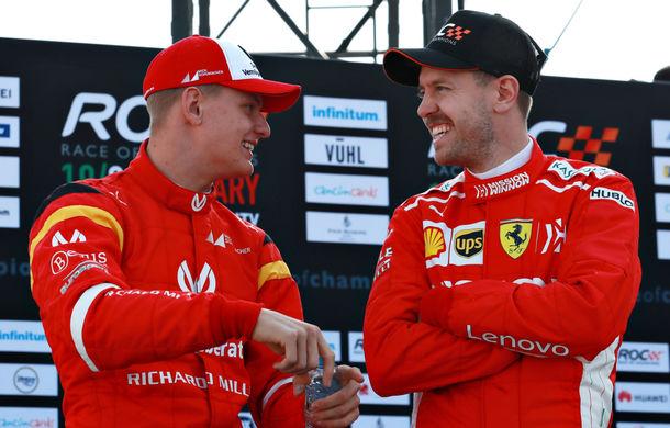 """Vettel anticipează performanțe majore din partea lui Mick Schumacher: """"Poate deveni un star al Formulei 1, dar are nevoie de timp"""" - Poza 1"""