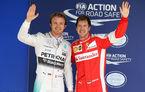 """Rosberg crede că Vettel nu a făcut față presiunii la Ferrari: """"Trebuie să se adune pentru sezonul următor"""""""