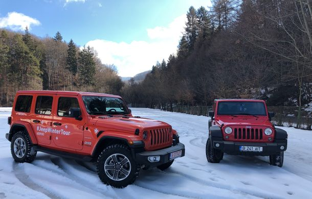 Jeep Winter Tour 2019: Wrangler vs. Wrangler - Poza 10