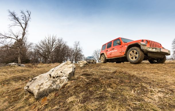 Jeep Winter Tour 2019: Wrangler vs. Wrangler - Poza 17