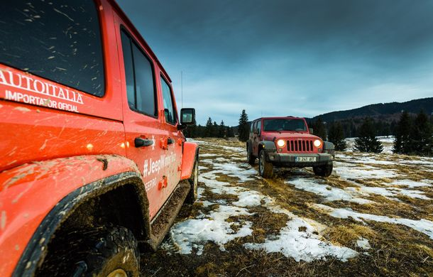 Jeep Winter Tour 2019: Wrangler vs. Wrangler - Poza 47