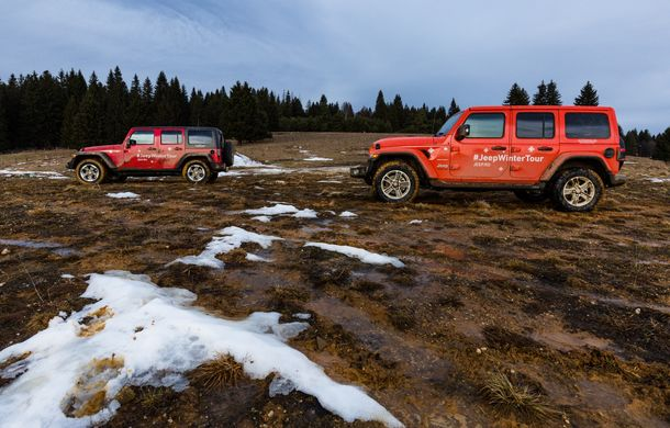 Jeep Winter Tour 2019: Wrangler vs. Wrangler - Poza 49