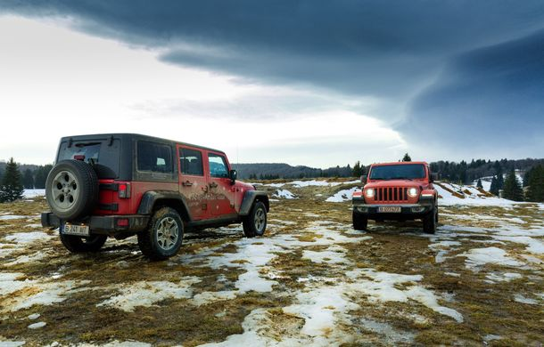 Jeep Winter Tour 2019: Wrangler vs. Wrangler - Poza 50