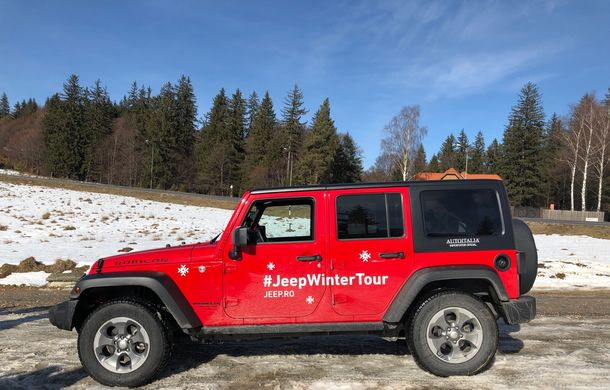 Jeep Winter Tour 2019: Wrangler vs. Wrangler - Poza 7