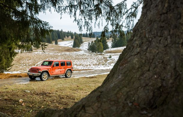 Jeep Winter Tour 2019: Wrangler vs. Wrangler - Poza 23