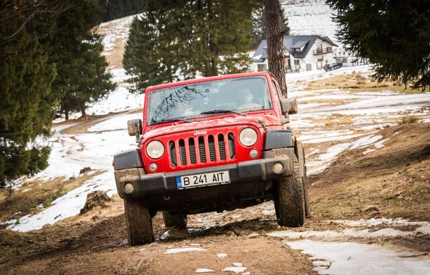 Jeep Winter Tour 2019: Wrangler vs. Wrangler - Poza 16