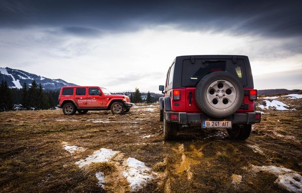 Jeep Winter Tour 2019: Wrangler vs. Wrangler - Poza 45