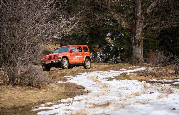 Jeep Winter Tour 2019: Wrangler vs. Wrangler - Poza 19