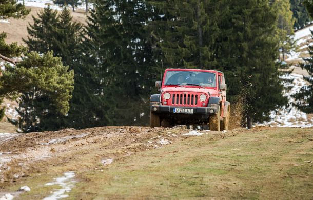 Jeep Winter Tour 2019: Wrangler vs. Wrangler - Poza 18