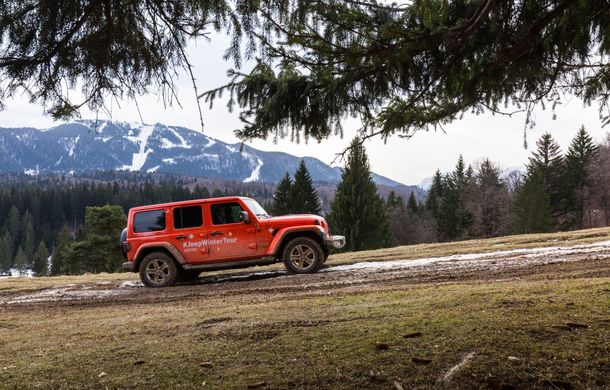 Jeep Winter Tour 2019: Wrangler vs. Wrangler - Poza 21