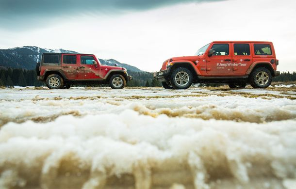 Jeep Winter Tour 2019: Wrangler vs. Wrangler - Poza 48