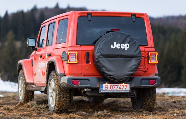 Jeep Winter Tour 2019: Wrangler vs. Wrangler - Poza 34