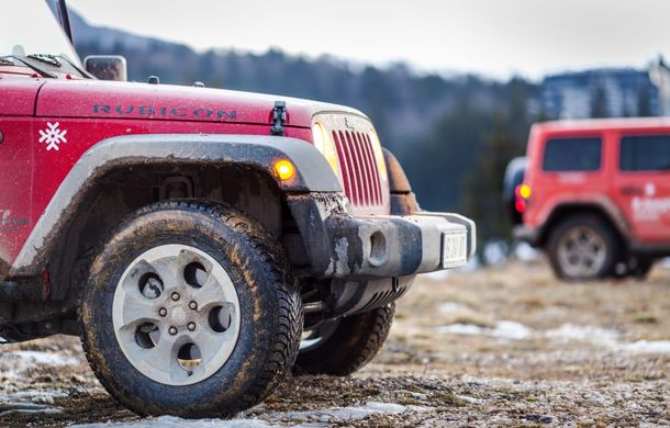 Jeep Winter Tour 2019: Wrangler vs. Wrangler - Poza 30