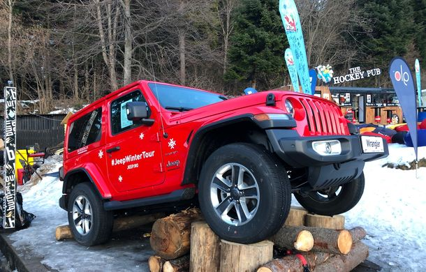 Jeep Winter Tour 2019: Wrangler vs. Wrangler - Poza 3