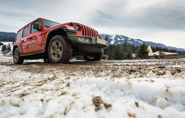 Jeep Winter Tour 2019: Wrangler vs. Wrangler - Poza 20