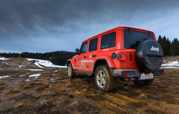 Jeep Winter Tour 2019: Wrangler vs. Wrangler - Poza 43