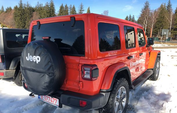 Jeep Winter Tour 2019: Wrangler vs. Wrangler - Poza 6