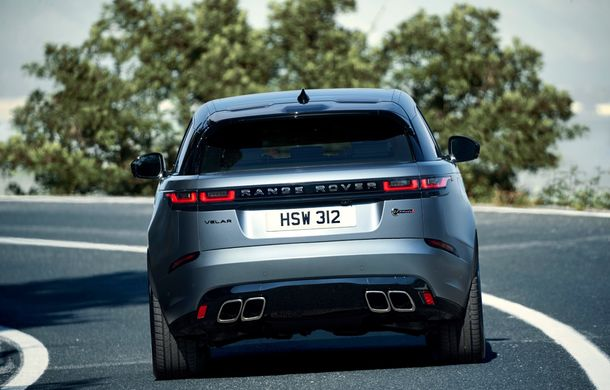 Range Rover Velar SVAutobiography Dinamic Edition: cel mai puternic Velar are motor V8 de 5.0 litri și 550 de cai putere - Poza 12