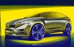 Skoda lansează un nou concept electric: Vision iV debutează la Geneva