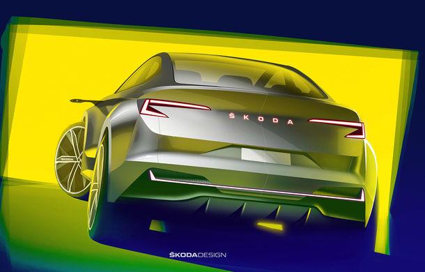 Skoda lansează un nou concept electric: Vision iV debutează la Geneva - Poza 3